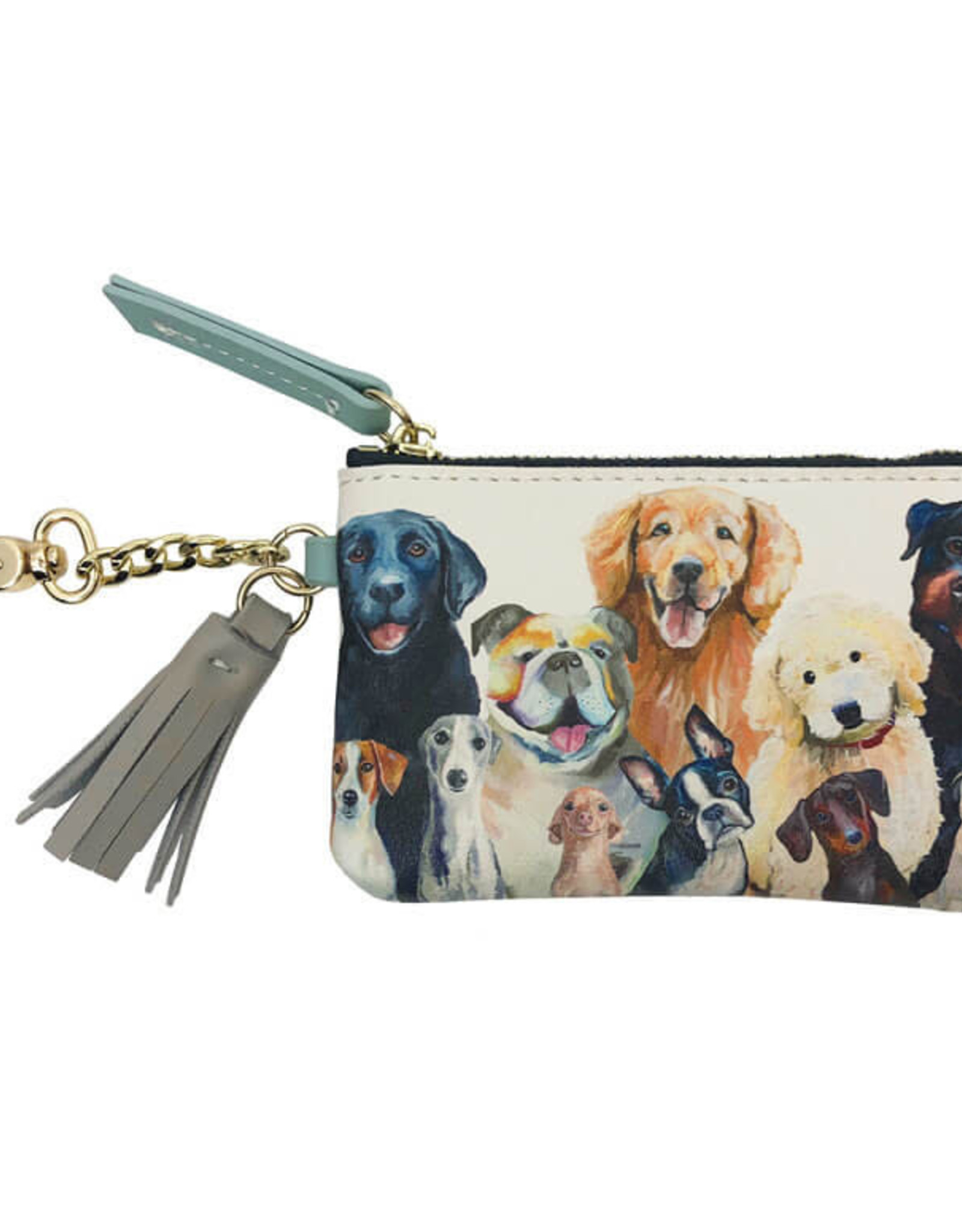 Greenbox Art Dog Bunch Key Pouch