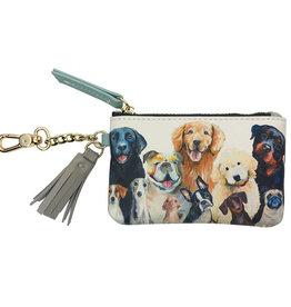 Greenbox Art Best Friend - Dog Bunch - Fashion Accessories Key Pouch