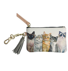 Greenbox Art Greenbox Feline Friends Key Pouch