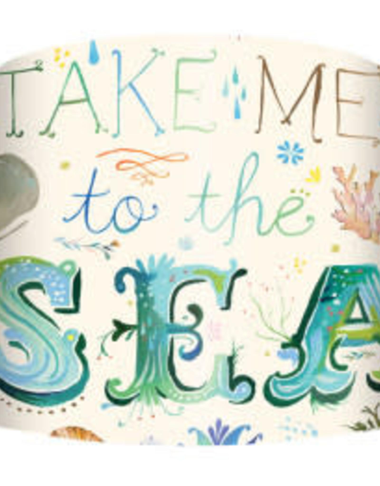 Greenbox Art Take Me to The Sea Lamp Shade
