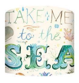Greenbox Art Greenbox Take Me to The Sea Lamp Shade