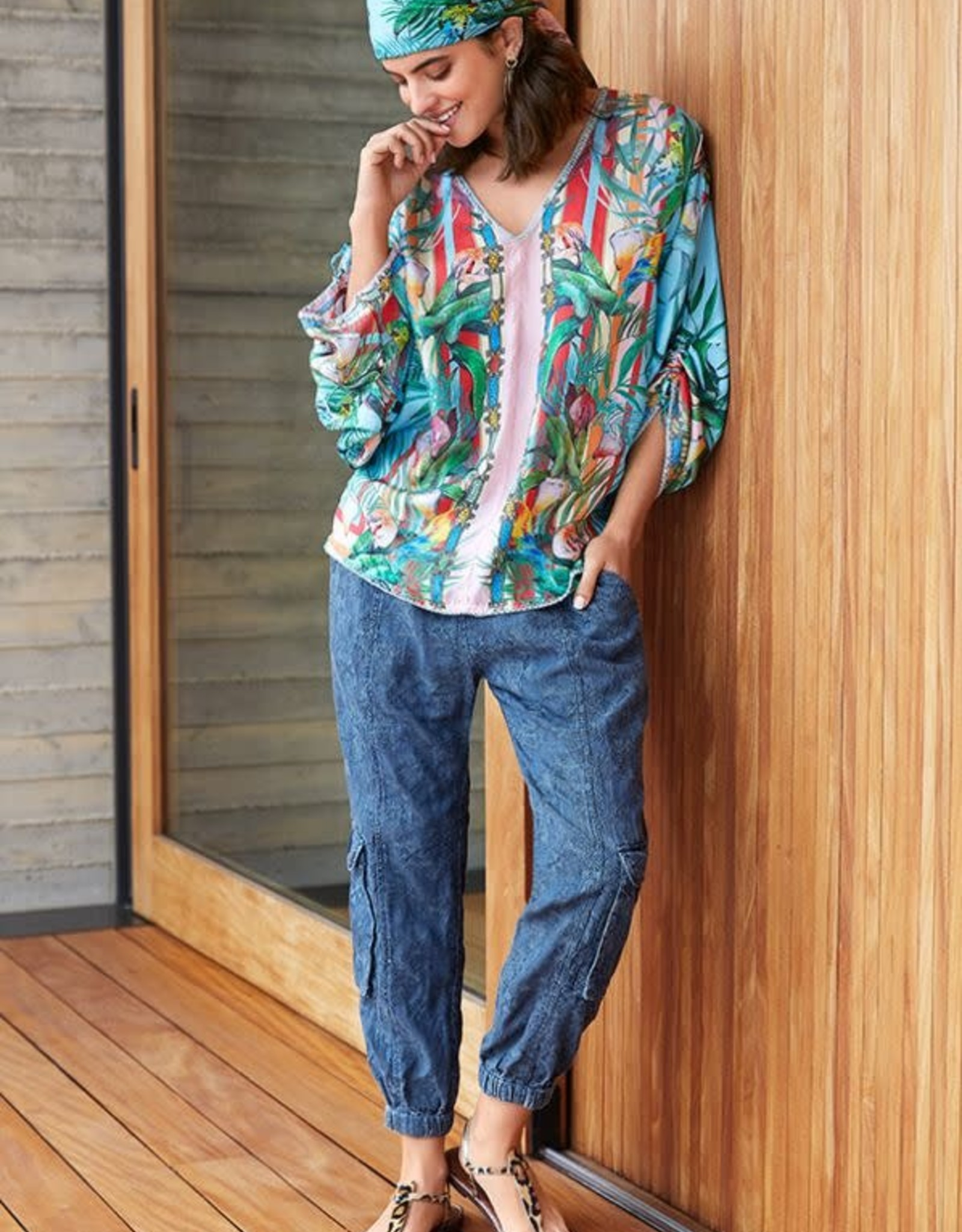 Johnny Was Collection Capri Blouse