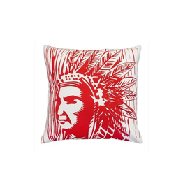 Indian Warrior Pillow