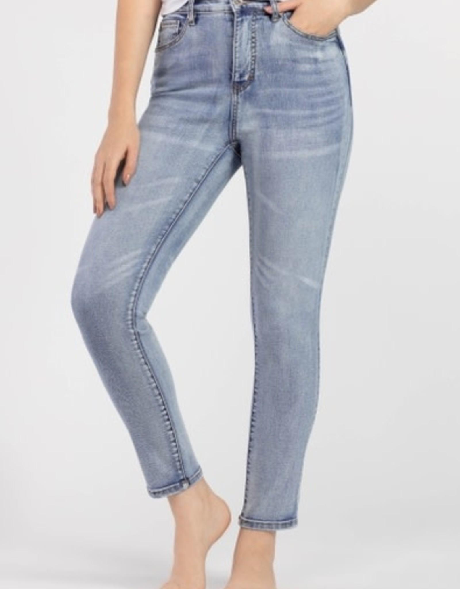 Tribal High Rise Slim Jean