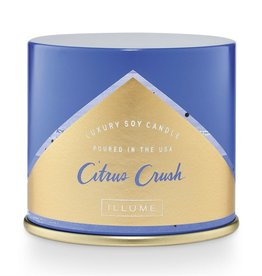 Illume Citrus Crush Vanity Tin Candle