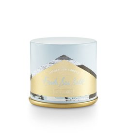 Illume Fresh Sea Salt Demi Vanity Tin Candle