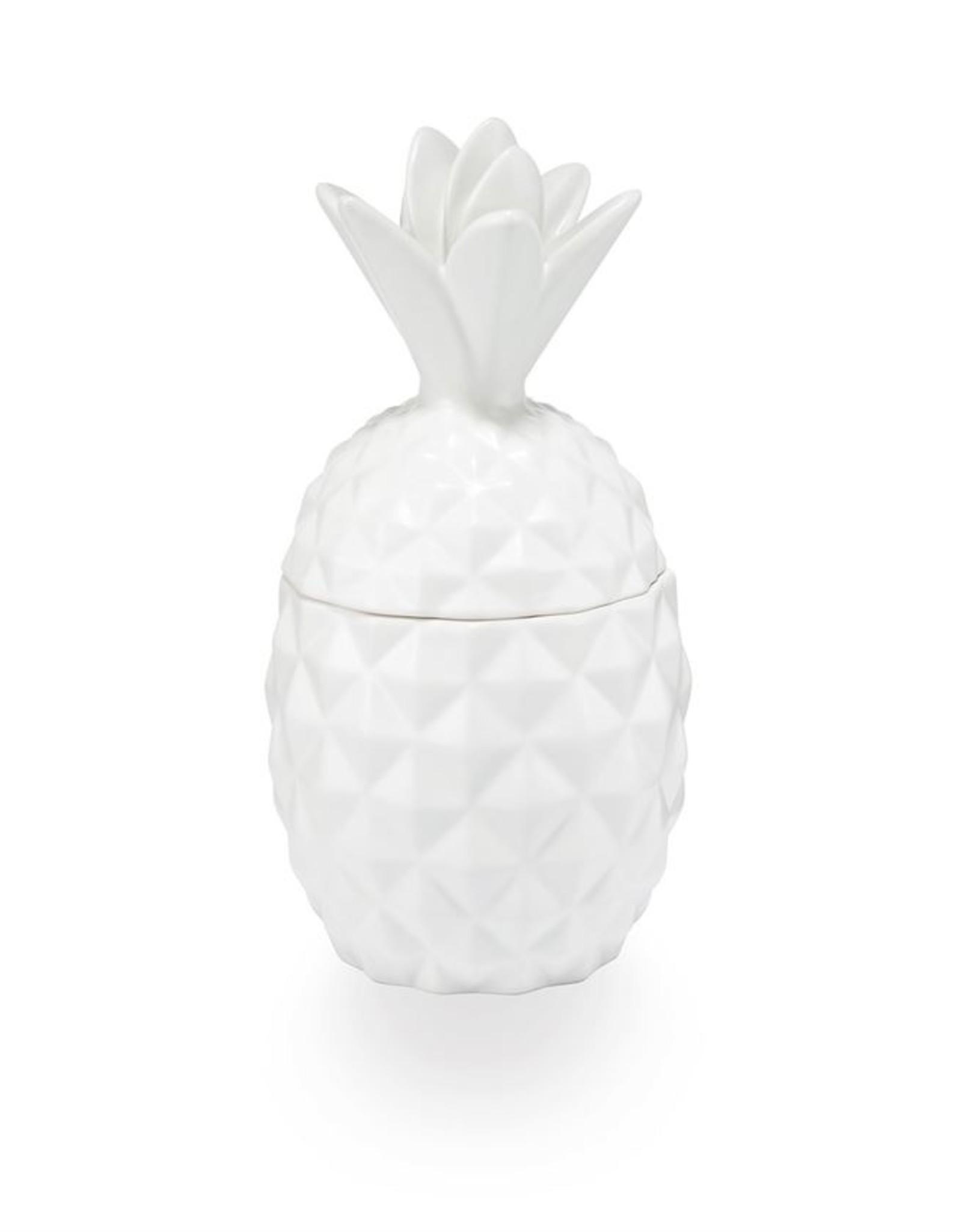 Illume Citrus Crush Ceramic Pineapple Candle 11oz
