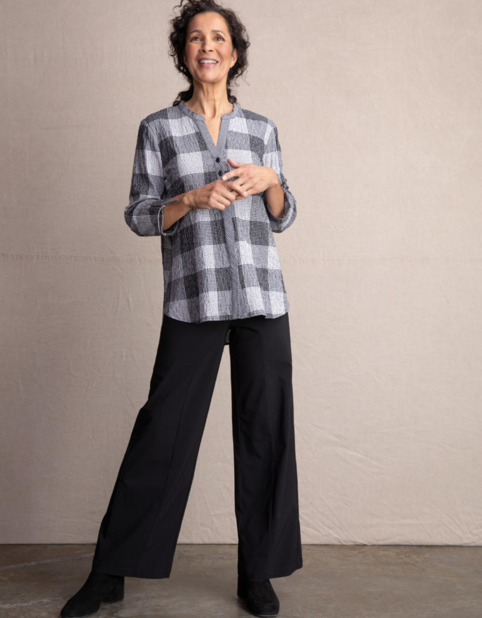 Habitat Clothes To Live In Mandarin Collar