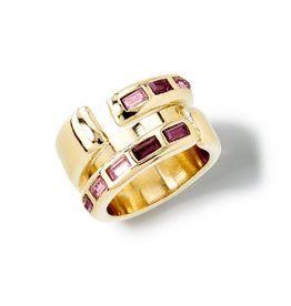 Uno de50 Nightbird Wrap Ring Gold Ring