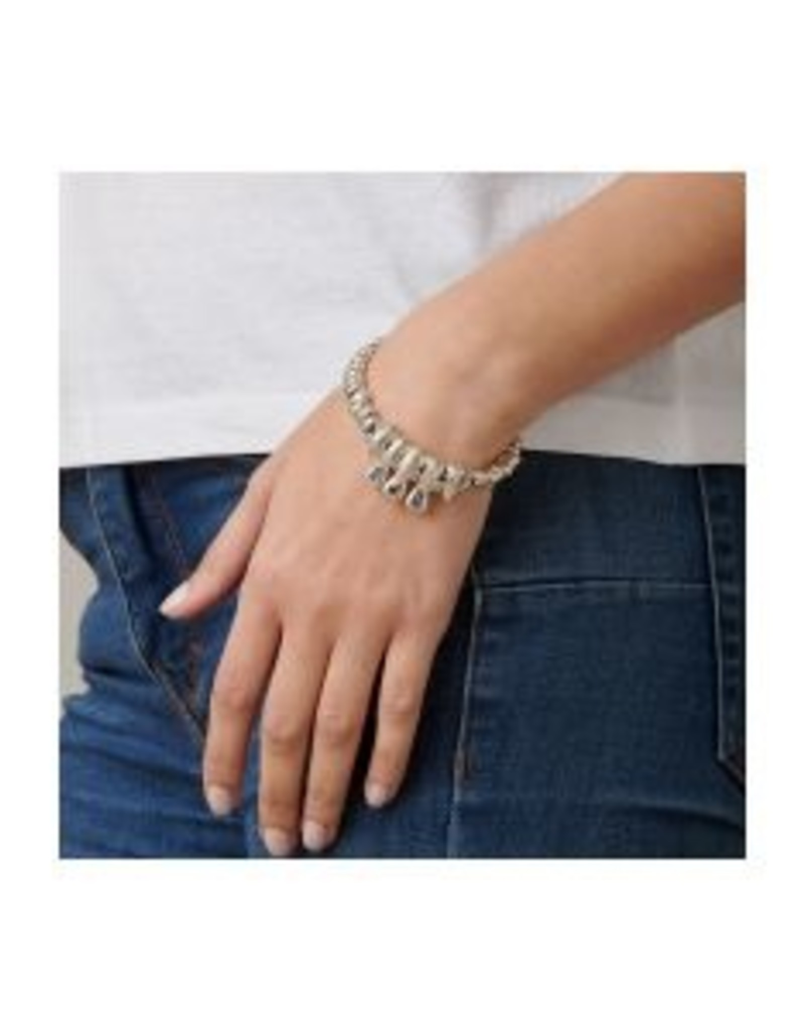 Uno de50 Sparks Fly Bracelet