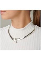 Uno de50 Bird Wings Necklace Silver