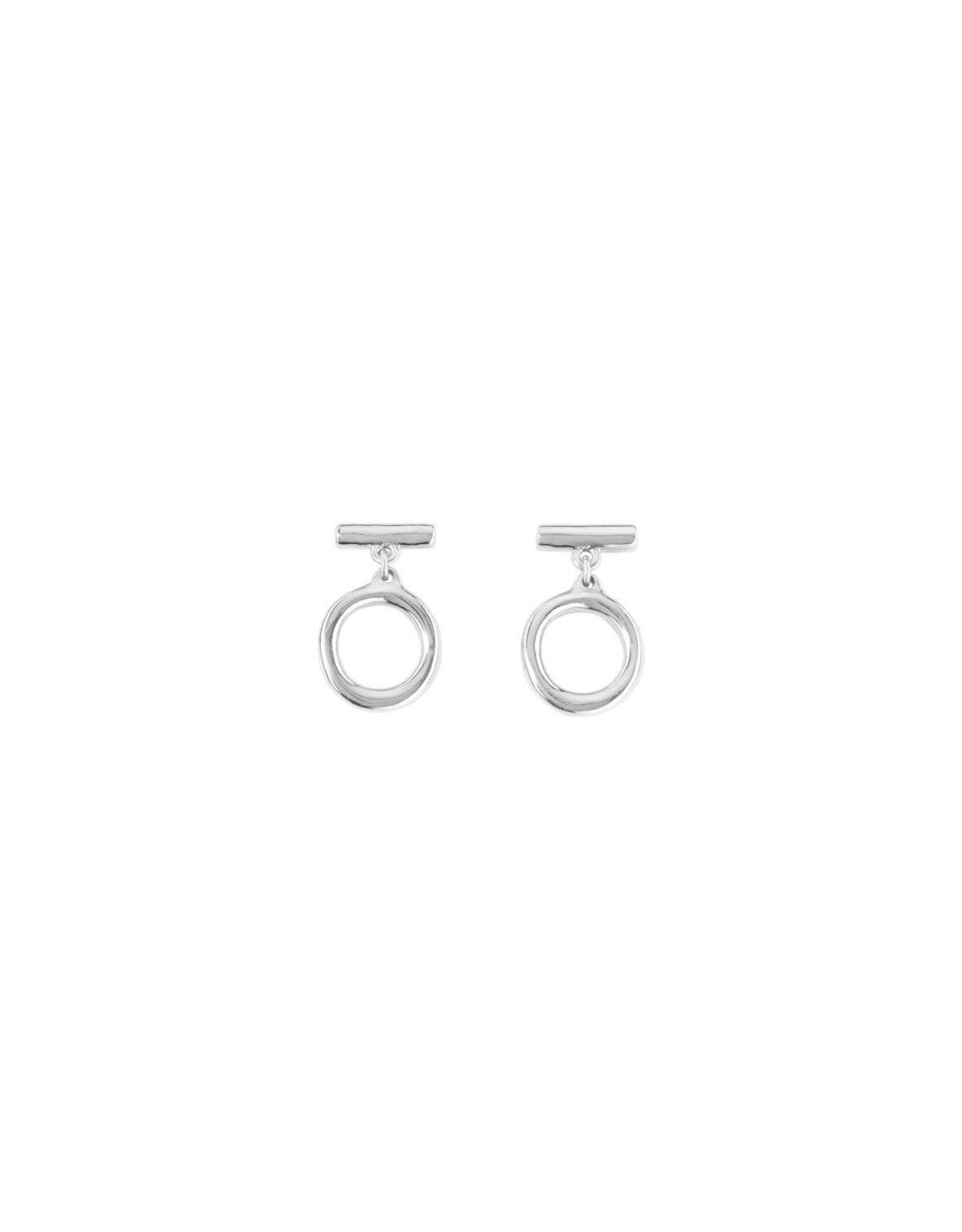 Uno de50 On / Off Ring Earrings