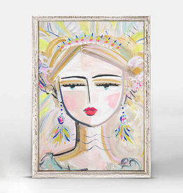 Greenbox Art She Is Fierce - Blonde 10x14