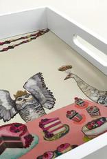 Greenbox Art Sweets Soiree Wooden Tray 18x13x2