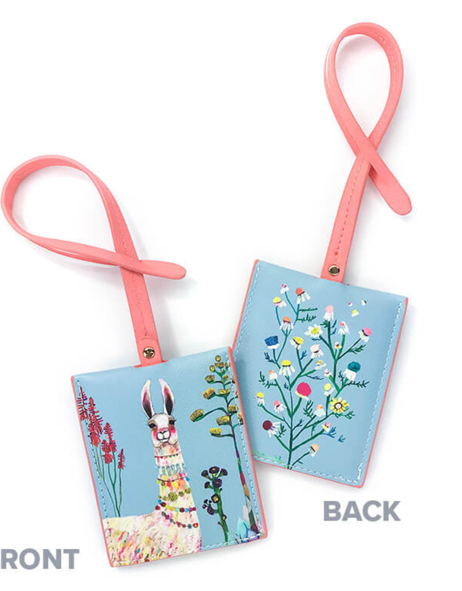 Greenbox Art Necklaces Luggage Tag 3x4