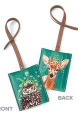 Greenbox Art Copy of Copy of Dog Tales Luggage Tag 3x4