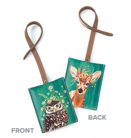 Greenbox Art Copy of Copy of Dog Tales Luggage Tag 3x4
