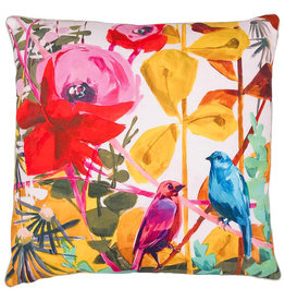 Greenbox Art Lovebirds-Close to you Pillow 20x20