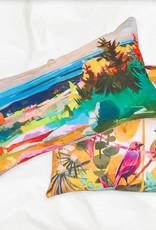 Greenbox Art Lovebirds-Close to you Pillow 20x20