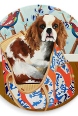 Greenbox Art Dog Tales-Louie Coaster