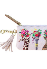 Greenbox Art Haute House Jungle Key Pouch 5x3.25