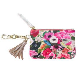 Greenbox Art Haute House Floral Key Pouch 5x3.25