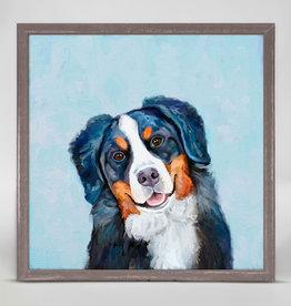 Greenbox Art Best Friends -Bernese Mountain Dog Mini Framed Canvas 6x6