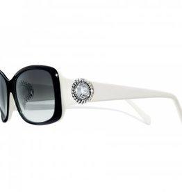 Brighton Twinkle Black & White Sunglasses