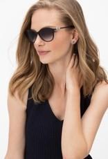 Brighton Ferrara Black & White Sunglasses