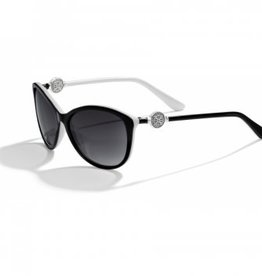 Brighton Ferrara Black & White Sunglasses