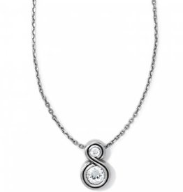 Brighton Infinity Sparkle Petite Necklace