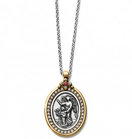 Brighton Guardian Angel 2-TN Necklace