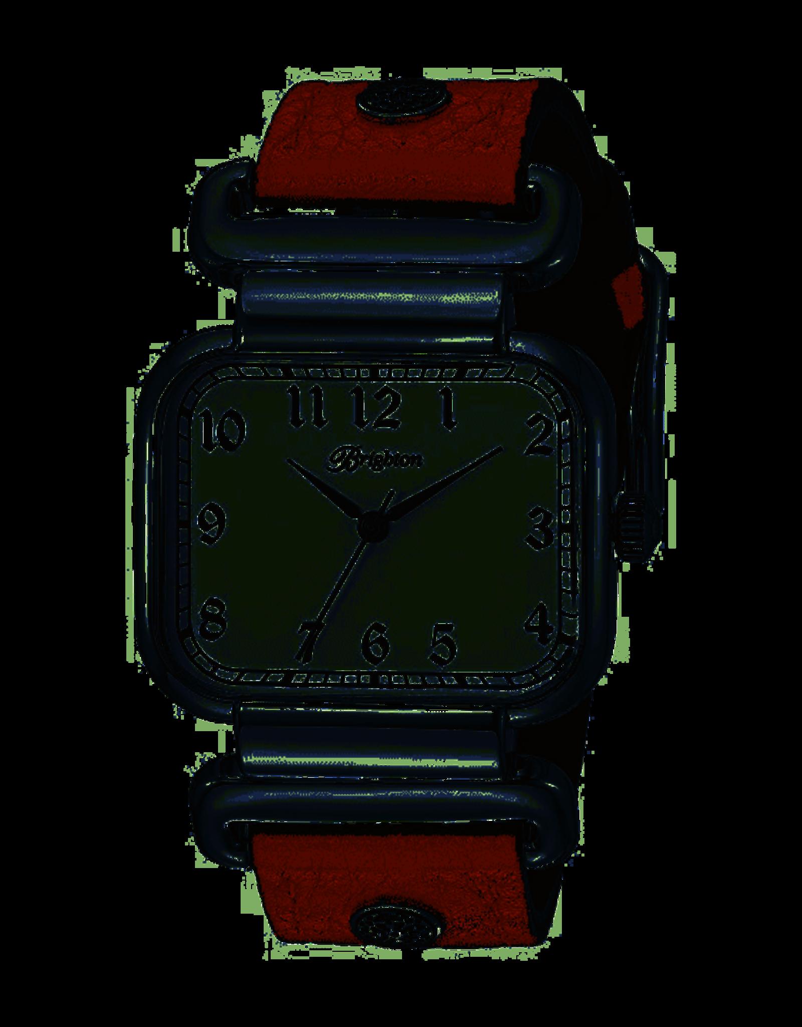 Brighton Montecito Reversible Leather Watch