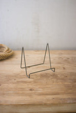 Kalalou Wire Easel with Raw Metal Finish \ large