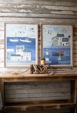 Kalalou Set of 2 Seaside Prints