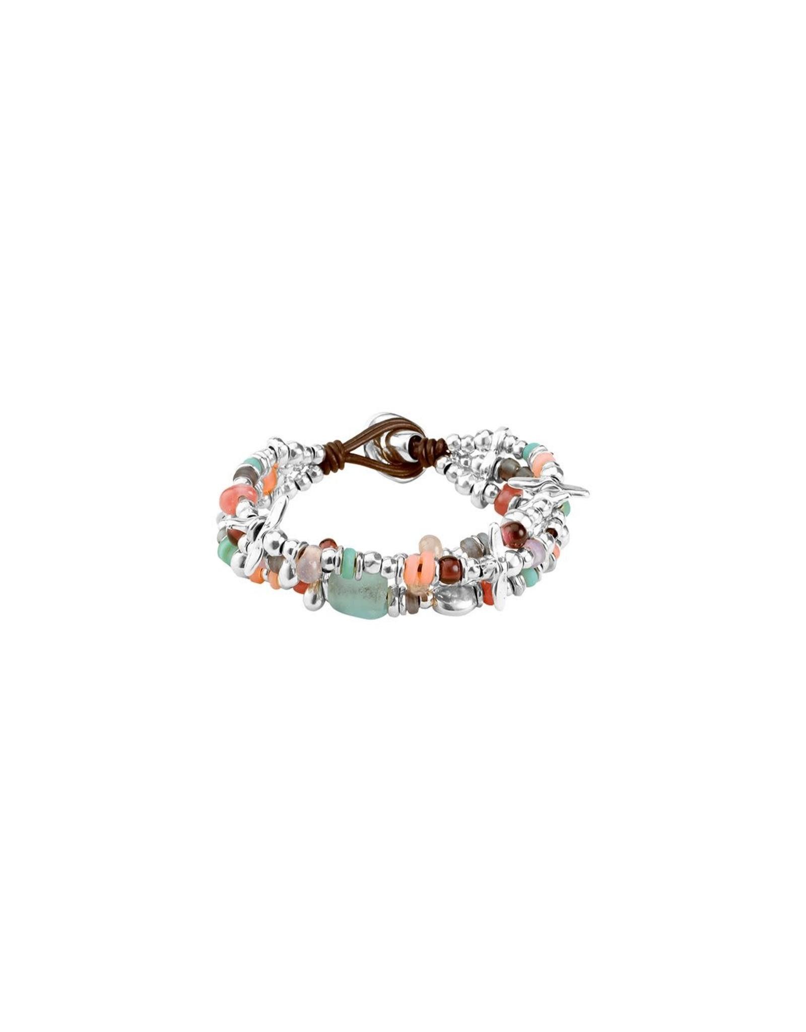 Uno de50 Love Bubble Bracelet M