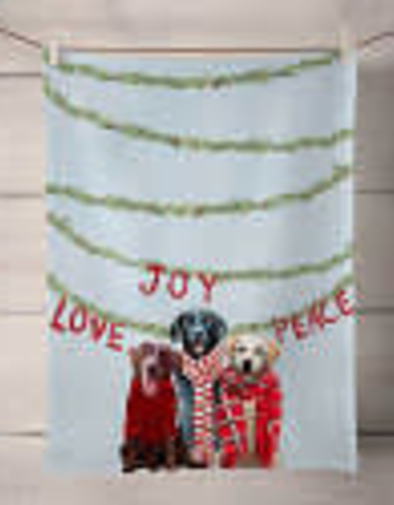 Greenbox Art Holiday - Lab Love Tea Towel