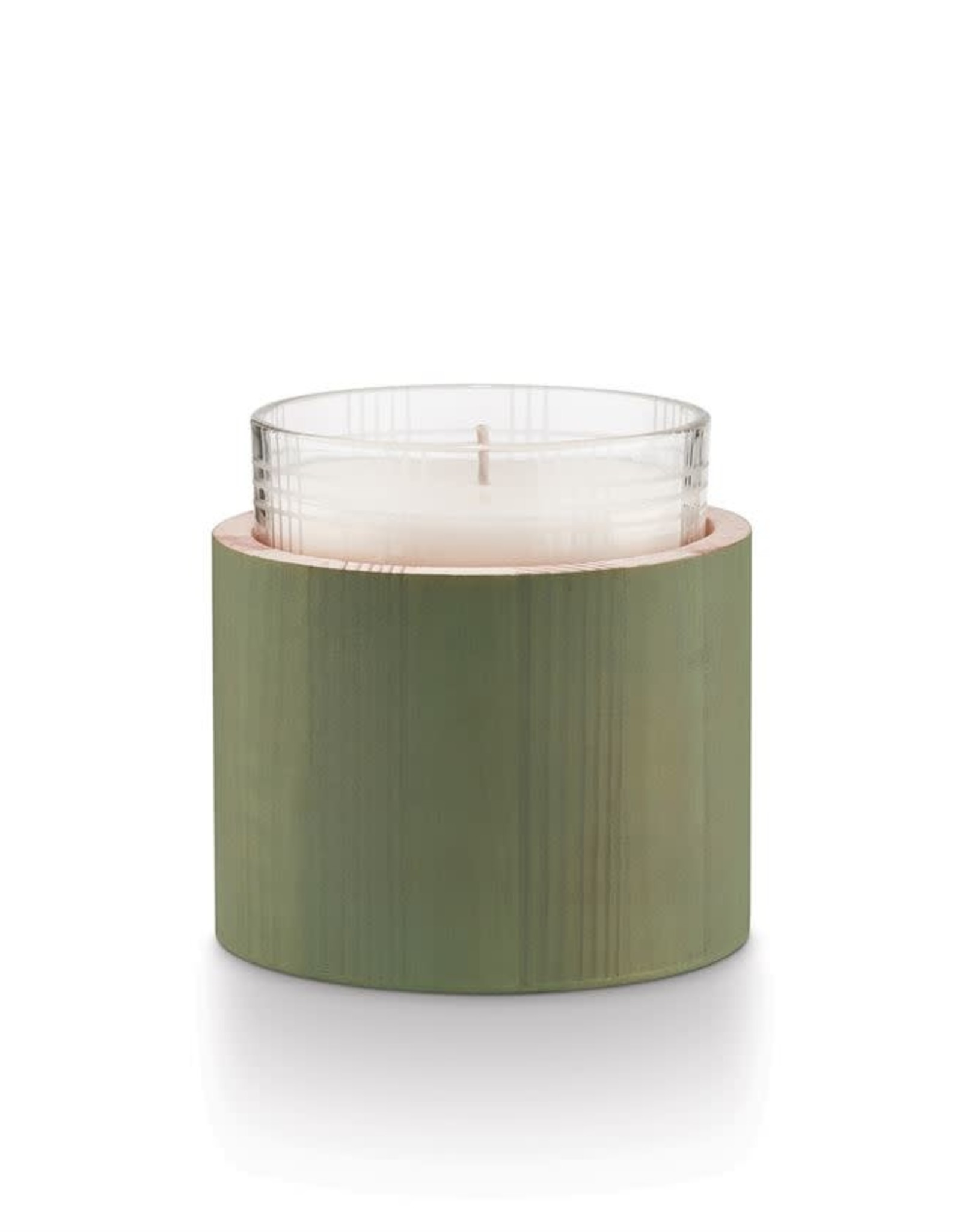 Illume Winter Mint Good Cheer Glass Candle