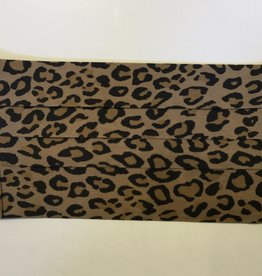 Johnny Was Collection Leopard-Silk Charmeuse Mask