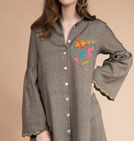 Tunic W/ Pocket Embroidery