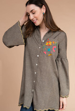 Ivy Jane Tunic W/ Pocket Embroidery