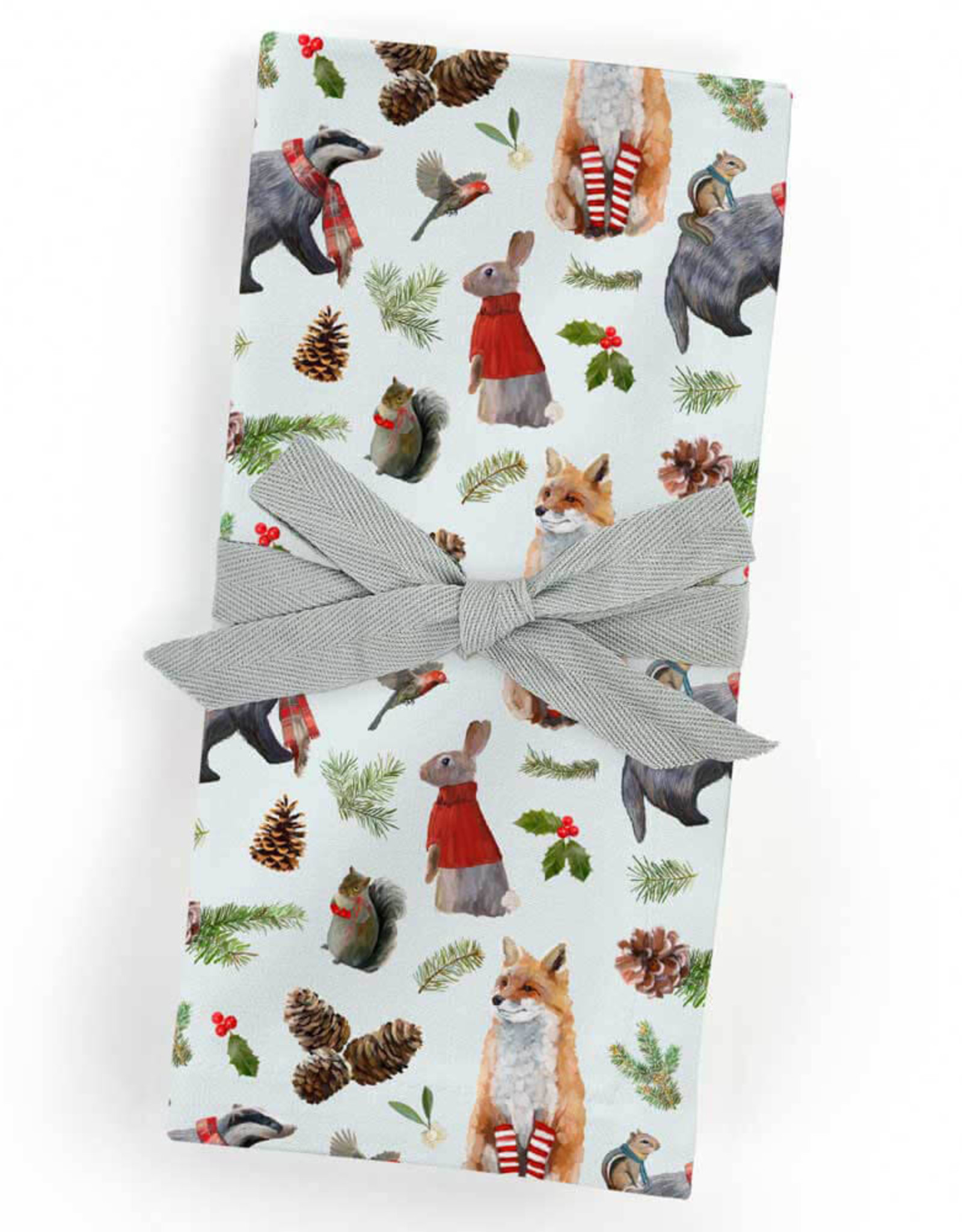 Greenbox Art Holiday- Christmas Bunch Cloth Napkins