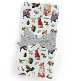 Greenbox Art Holiday- Christmas Bunch Cloth Napkins