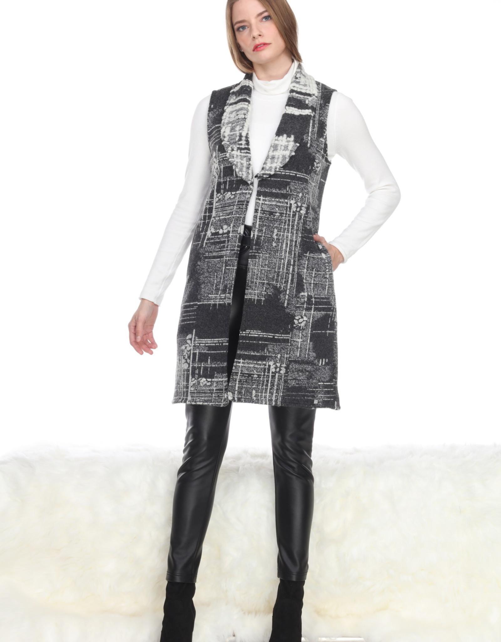 Sisters Embossed Pattern Vest