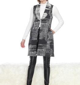 Embossed Pattern Vest