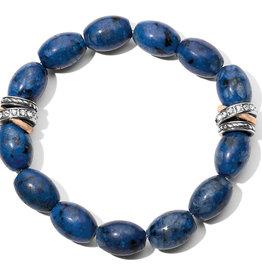 Brighton Neptune's Rings Kiwi Lapis Stretch Bracelet