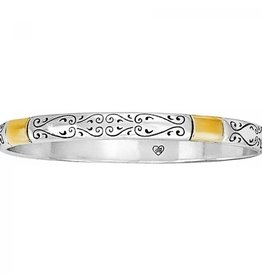 Brighton Venezia Bangle Silver/Gold