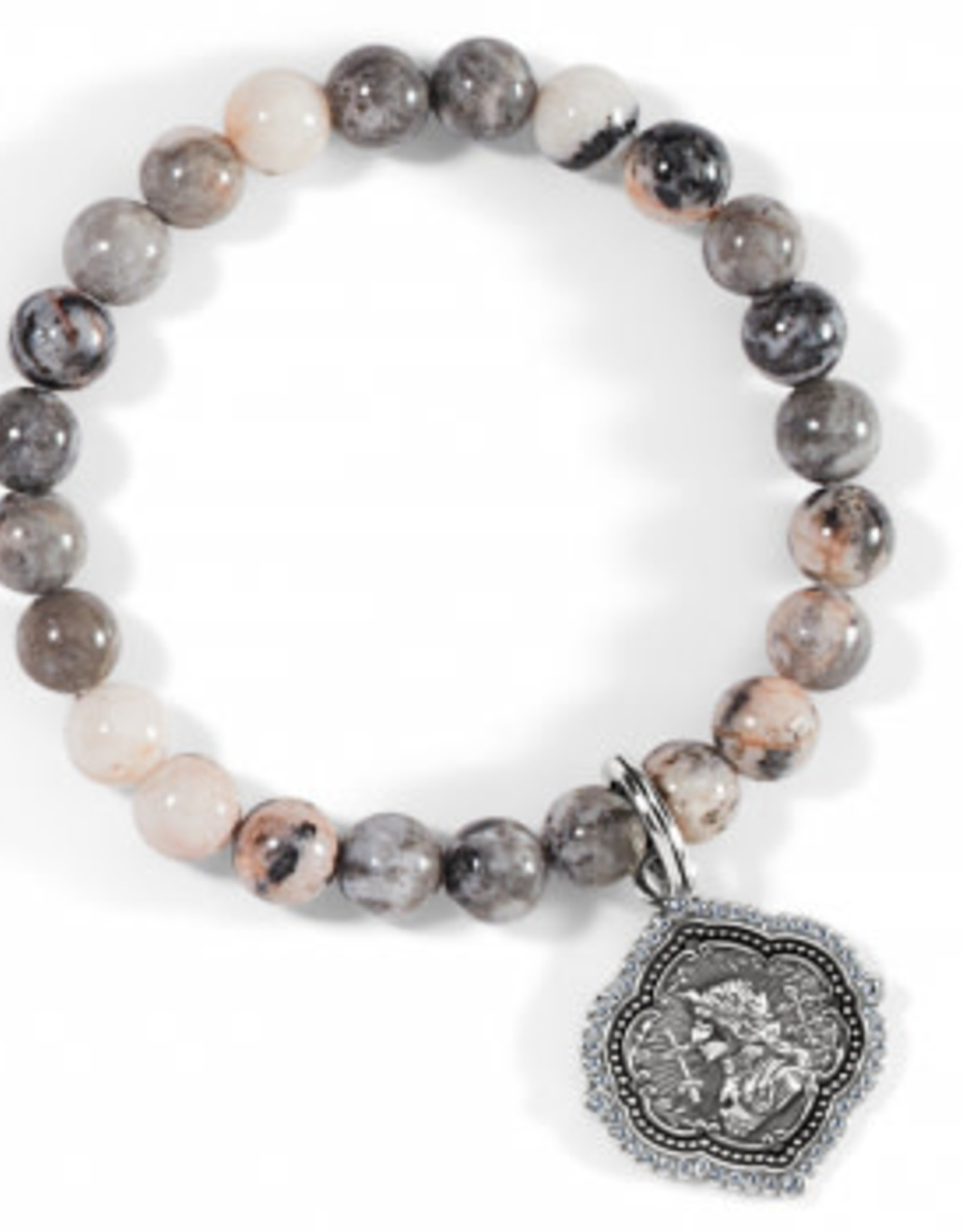 Brighton Art & Soul Joan of Arc Stretch Bracelet