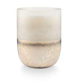 Illume Balsam & Cedar Large Frosted Glass Candle