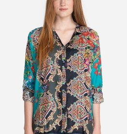 Johnny Was Collection Candice Button-Down Blouse